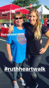 My Client, Stroke Survivor Betty Campbell